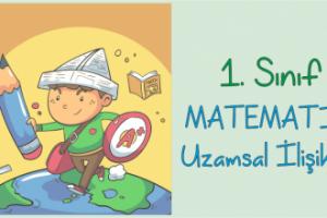 1. Sınıf Matematik Uzamsal İlişkiler