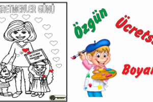öğretmenler Günü Boyama örnekleri Arşivleri Ercan Akmercan