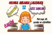 Türkçe Kitabı-1 Okuduğunu Anlama Etkinlikleri-12