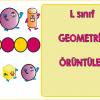 1 Sınıf Geometrik örüntüler Ercan Akmercan