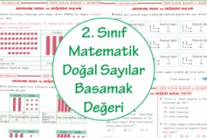 2. Sınıf Matematik Doğal Sayıların Basamak Değeri