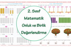 2 Sınıf Onluk Birlik Boyama Arşivleri Ercan Akmercan