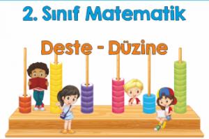 2. Sınıf Matematik Deste-Düzine Çalışması