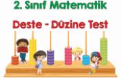 2. Sınıf Matematik Deste-Düzine Test Çalışması