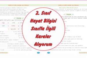 2sınıf Sınıf Kuralları Boyama Arşivleri Ercan Akmercan
