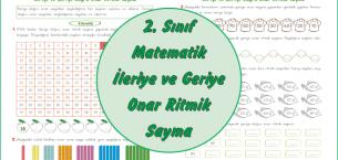 2. Sınıf Matematik İleriye ve Geriye Onar Ritmik Sayma