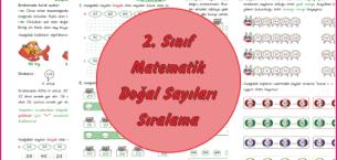 2. Sınıf Matematik Doğal Sayıları Sıralama