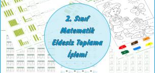 2. Sınıf Matematik Eldesiz Toplama İşlemi