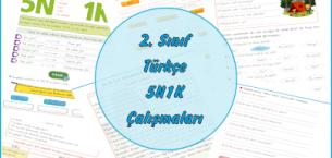 2. Sınıf Türkçe 5N1K Çalışması