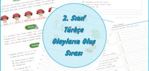 2. Sınıf Türkçe Olayların Oluş Sırası