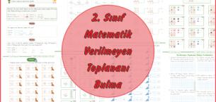 2. Sınıf Matematik Verilmeyen Toplananı Bulma
