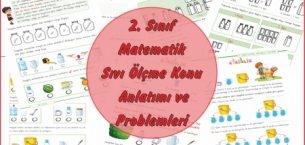 2. Sınıf Matematik Sıvı Ölçme