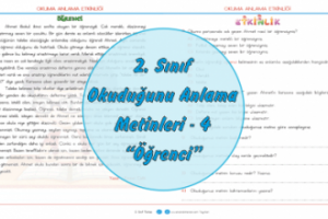 2. Sınıf Türkçe Okuma Anlama Metinleri-4