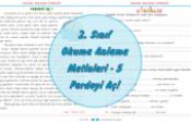 2. Sınıf Türkçe Okuma Anlama Metinleri-5