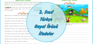 2. Sınıf Türkçe Hayal Ürünü İfadeler