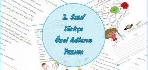 2. Sınıf Türkçe Özel Adların Yazımı