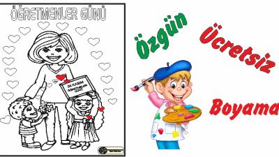 Okul Oncesi Ogretmenler Gunu Boyama Etkinlikleri Arsivleri Ercan
