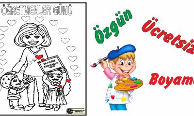 Okul öncesi öğretmenler Günü Boyama Etkinlikleri Arşivleri Ercan