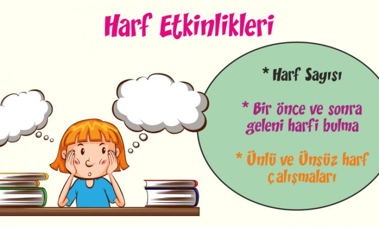 Türkçe Kitabı-1 Harf Etkinliği-1