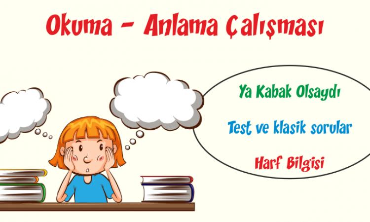 Türkçe Kitabı-1 Okuduğunu Anlama Etkinlikleri-2