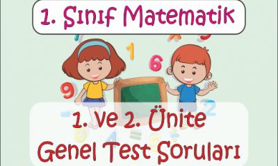 1. Sınıf Matematik 2. Ünite Genel Test -1