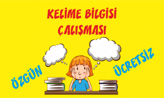 Türkçe 1 Kelime Bilgisi Etkinliği