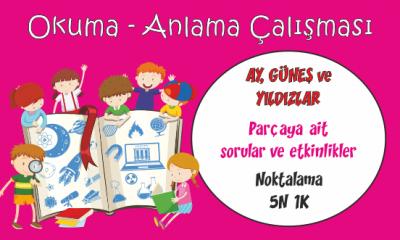 Türkçe 1 Okuma Anlama Etkinliği-6