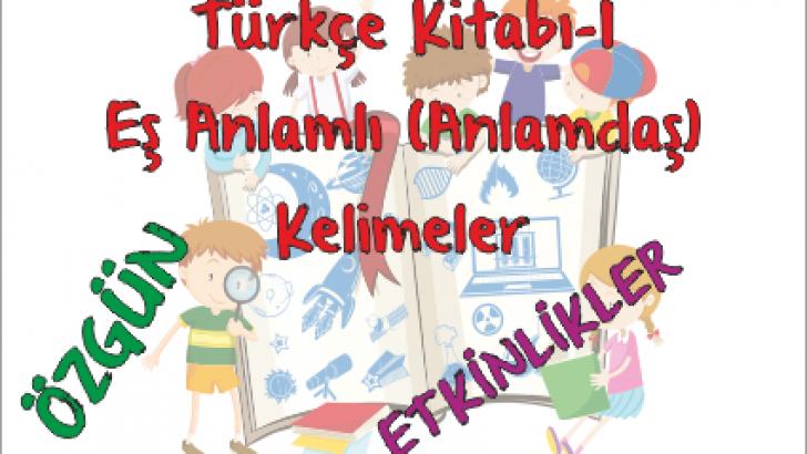 Turkce Kitabi 1 Es Anlamdas Kelimeler Etkinligi Ercan Akmercan