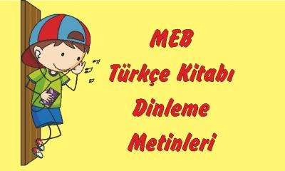 1. Sınıf Türkçe Dinleme Metinleri