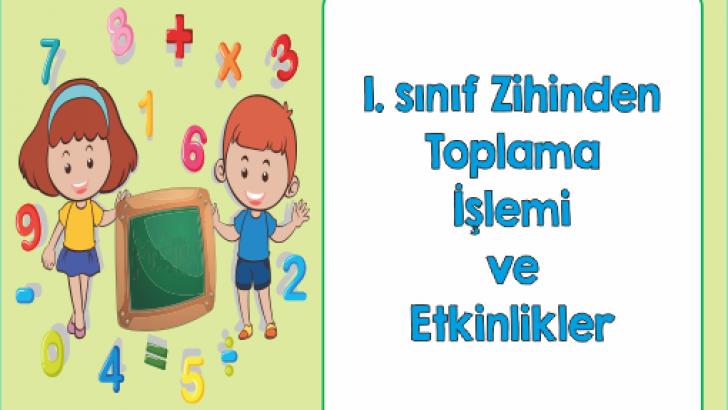 1 Sinif Zihinden Toplama Islemi Ercan Akmercan