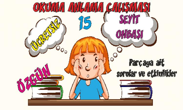 Türkçe Kitabı 1 Okuduğunu Anlama Etkinlikleri 15