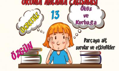 Türkçe Kitabı 1 Okuduğunu Anlama Etkinlikleri 14