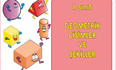 1. Sınıf Geometrik Cisimler ve Şekiller