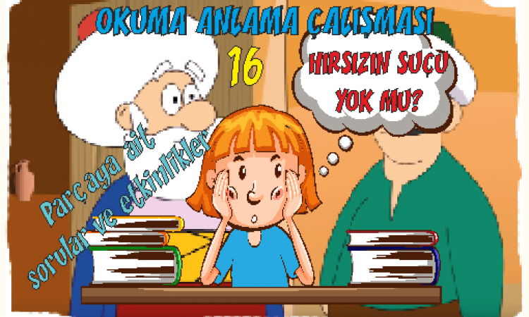 Türkçe 1 Okuma Anlama Etkinlikleri 17