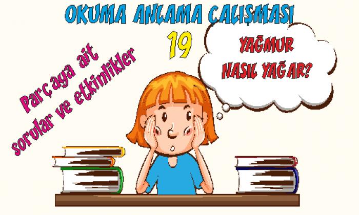 Türkçe 1 Okuma Anlama Etkinlikleri 19