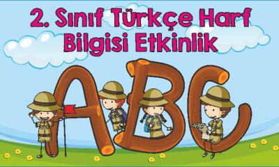 2. Sınıf Türkçe Harf Bilgisi Etkinlik