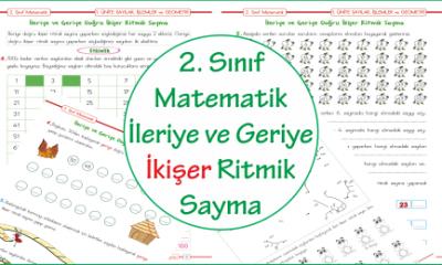 2. Sınıf Matematik İleriye ve Geriye İkişer Ritmik Sayma