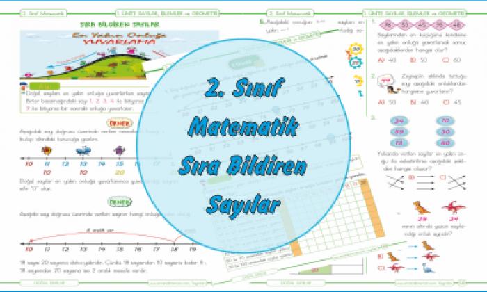 2. Sınıf Matematik En Yakın Onluğa Yuvarlama