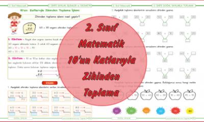 2. Sınıf Matematik 10'un Katlarıyla Zihinden Toplama