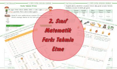 2. Sınıf Matematik Farkı Tahmin Etme