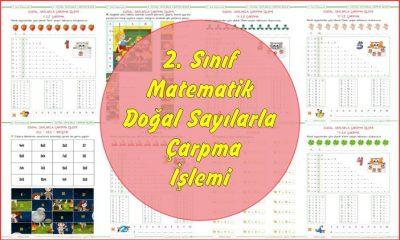 2. Sınıf Matematik Doğal Sayılarla Çarpma İşlemi