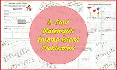2. Sınıf Matematik Çarpma İşlemi Problemleri